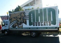 Ohio University Bobcats - equipment transporter for away football games