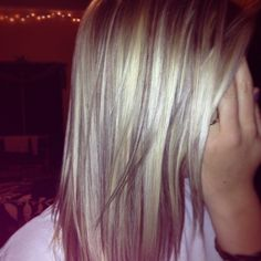 blonde hair with lowlights | Highlights and lowlights on blonde hair | fashion