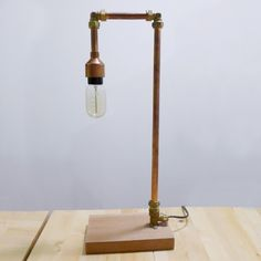 industrial copper lamp workshop singapore