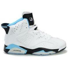 5d332e200d04 Air Jordan 6 (VI) Olympics White Black Sky Blue