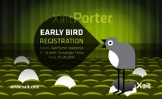XaitPorter Xperience save the date
