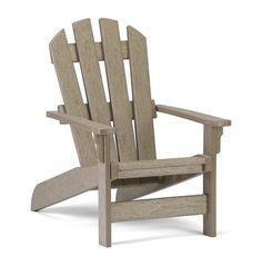 Polywood Adirondack Kids Chair is built to last!! No splintering, rusting, cracking, chipping, rotting, GUARANTEED!
