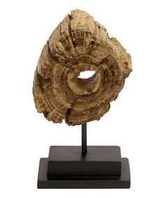 Take a look at this Tree Slice 12'' Tabletop Sculpture by UMA Enterprises on #zulily today!