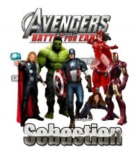 The Avengers New T shirt Personalized Gift