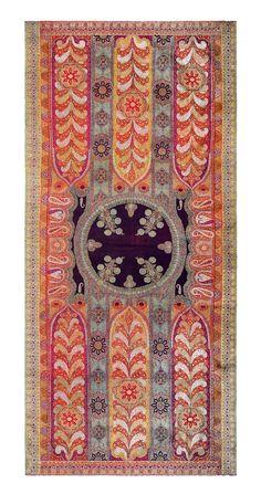 Kashmir shawl, Karun collection, c. 1850