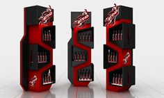 Sting Gondola OP- 2 on Behance Stall Display, Pos Display, Display Design, Display Shelves, Pos Design, Retail Design, Trophy Design, Cosmetic Display, Exhibition Booth Design