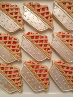 Cherry Pie Cookies The Doughmestic Housewife