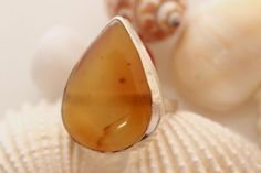 HUG HONEY QUARTZ GIFT IDEAS FOR GIRLFRIEND 925 STERLING SILVER RING SIZE 8.5 736 #925silverpalace #Cocktail