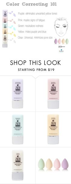 """""""CC Primers by Zuzu Luxe"""" by jeanamelia on Polyvore featuring beauty and beautyblender"""