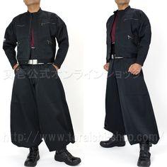 Toraichi 2530-308 2-type tobi jumper 2530-435 Cho-cho long do-tsuki pants