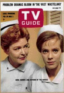 """The Nurses 1962 - 1965 TV Show (The Nurses TV show was a 60 minute hospital drama series on CBS about the on and off work lives of the nurses who worked at Alden General Hospital. In the 3rd season, more men were added to the cast and the series name was changed to """"The Doctors And The Nurses"""". )"""