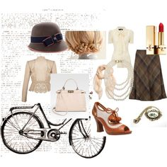 The Tweed Ride, created by thecovetedcloset on Polyvore