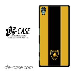 Lamborghini Aventador Bond Style DEAL-6291 Sony Phonecase Cover For Xperia Z5