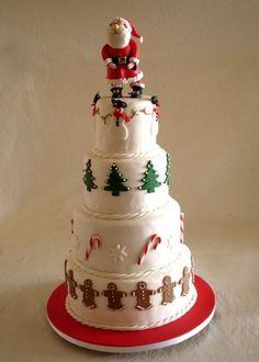 Christmas Cake | Cake Decorating