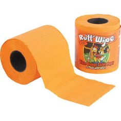 Blaze Orange Toilet Paper for Hunters! lol