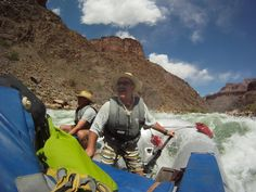 Grand Canyon Expeditions Professional River Guide - Dave Spillman! A fun person and a great guide!