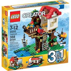 LEGO Creator Treehouse Play Set = WANT! or any other lego creator thing. those are all super cool. and yes. artsy