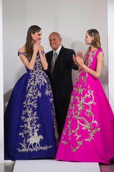 """What is Oscar de la Renta? """"It is a pretty dress,"""" he replied — The Entertaining House"""