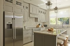 Contemporary Shaker Kitchen - designed by Higham Furniture 2