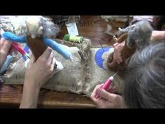 Needle Felting: How to Make a Forest Person Part 3 - YouTube