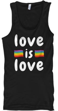 Junior/'s Rainbow Ally Black V Neck T-Shirt Support LGBT Equality Love Lesbian
