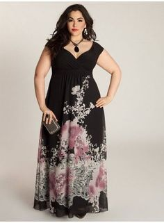 Fashion is not about Size, It's an Attitude. Discover more #slimmingbodyshapers This versatile plus size dress is sure to become your go to for summer days- dressy occasions or a night on the town! A classic plus size dress in a shape that flatters every body type slimmingbodyshapers.com