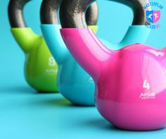 Kettlebell workouts for women. Check out the best kettlebell exercises at Women's Health & Fitness. Kettlebell Training, Circuit Kettlebell, Kettlebell Benefits, Kettlebell Challenge, Kettlebell Deadlift, Kettlebell Swings, Training Workouts, Training Videos, Weight Training