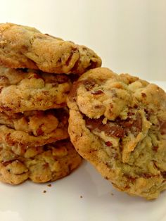 OMG Heath Bar Cookies | from everyday to gourmet