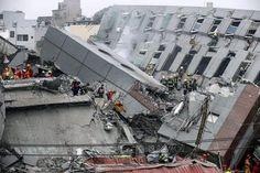 Terremoto em Taiwan mata ao menos 14 pessoas  (foto: EPA)