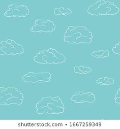 Find Seamless Clouds Background Vector Pattern Hand stock images in HD and millions of other royalty-free stock photos, illustrations and vectors in the Shutterstock collection. Thousands of new, high-quality pictures added every day. Seamless Background, Vector Pattern, Royalty Free Stock Photos, Clouds, Illustration, Pictures, Image, Art, Photos