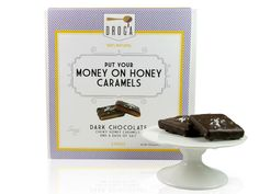 The most unique chocolates in America: Put Your Money on Honey Caramels, $16.95, Droga Chocolates