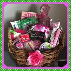 Valentines day romance and love gift basket for him and her spa gift basket for her great for fashionistas pamper any lady on her birthday sciox Choice Image