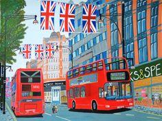 Oxford Street- Queen's Diamond Jubilee