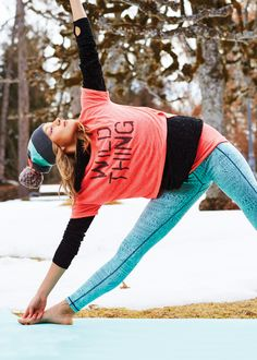 Step up your yoga style.