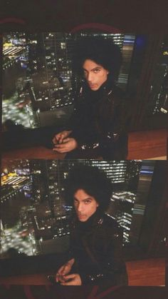 This is the last known picture(s) that Prince posed for