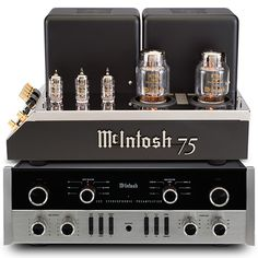 McIntosh MC75 and C22 Deliver Modern Performance Standards in Classic Designs