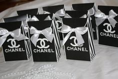 Chanel inspired favor bag By Sprinkled With by sprinkledwithlaughs, $25.00