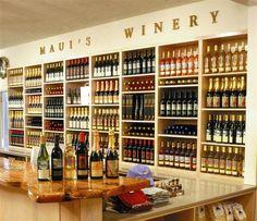 Maui winery tasting room....  I've been here too and discovered Maui Splash.  Mmm, Mmm, Good!!!