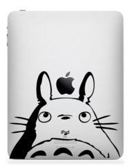 Totoro 3. iPad, iPad 2 or iPad 3 Sticker Decal