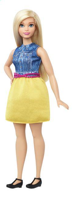 Afbeelding van Barbie mannequinpop Fashionistas Curvy 22 - Chambray Chic from DreamLand