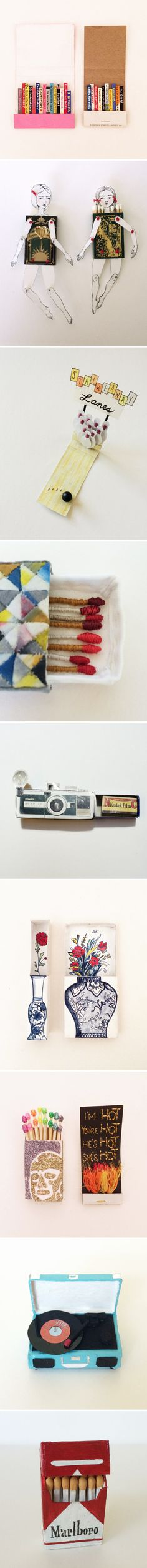 #strikeaway - a group show FILLED with matchbook art! <3