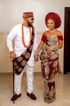 Nigerian Wedding Dresses Traditional, Traditional Wedding Attire, African Traditional Dresses, Traditional Outfits, Traditional Weddings, African Wedding Dress, African Weddings, Igbo Bride, Igbo Wedding