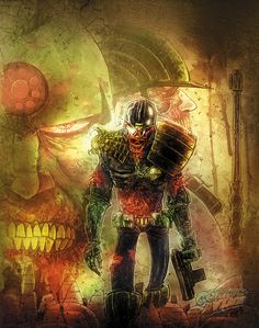 Exclusive Cover Reveal: Ben Templesmith on 2000 AD - Comic Vine