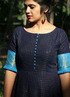 Trendy Sewing Patterns For Women Dresses For Girls Ideas Churidar Neck Designs, Kurta Neck Design, Salwar Designs, Kurta Designs Women, Kurti Designs Party Wear, Neck Designs For Suits, Sleeves Designs For Dresses, Dress Neck Designs, Blouse Designs