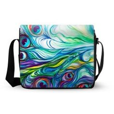 Peacock Feather  Shoulder Bag  $49.99 www.allthingspeacock.com - Peacock Bags & Purses