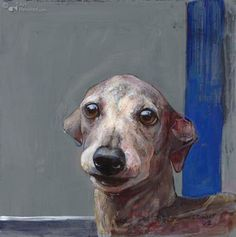 Windhondje (Greyhound) by Pieter Pander