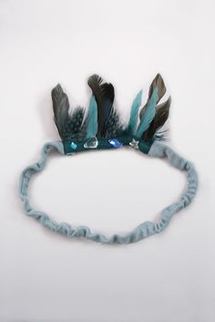wovenplay headband in blue