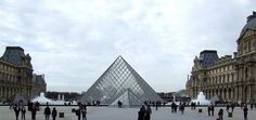 The Louvre - Click image to find more Travel & Places Pinterest pins