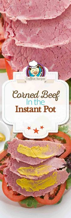 Love corned beef?  Try making it in an Instant Pot.  This is the most tender corned beef ever.  You are going to love how easy this recipe will be for dinner.