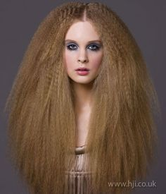 Don't crimp my style. Fashion hair. #blowout #crimpedhair #redhead